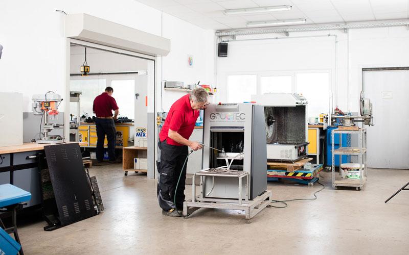 Service: Installatie - Preventief onderhoud - Reparatie