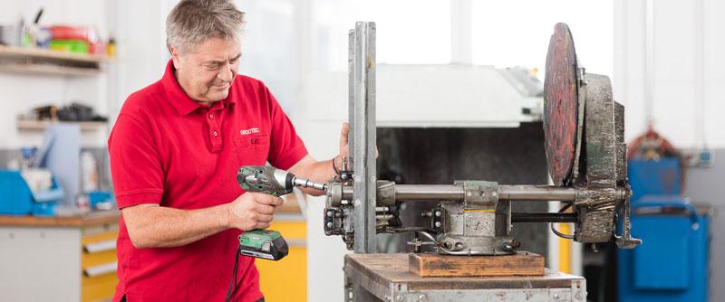 Der GROOTEC-Service: Installation, Inspektion und Reparatur